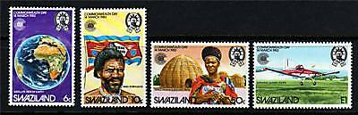 Swaziland 1983 Commonwealth Day SG 421/4  MNH