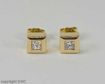 Ohrstecker mit Diamanten Brillanten Diamant Brillant Ohrringe Gold .
