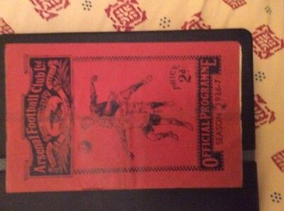 Arsenal v Manchester United 1936/37 FA cup