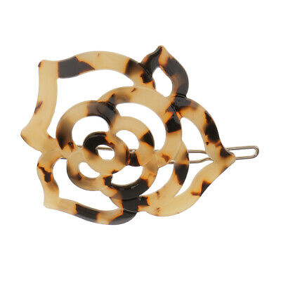 Chic Women Girl Acrylic Hair Clip Hairpin Geometric Circle Hair Accessories