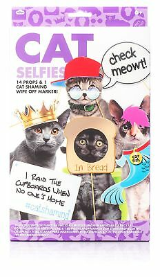 Cat Selfies Kit Stick Props Accessories Photo Booth Accessories Selfie
