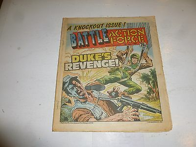 BATTLE ACTION FORCE Comic - Date 07/06/1986 - UK Paper Comic