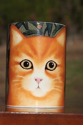 Coffee Mug Ashely Orange Cat Lover By Martin Leman Depart 56