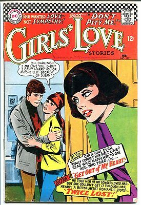 Girls' Love Stories #117-Dc Romance-Great Cover Vg/fn
