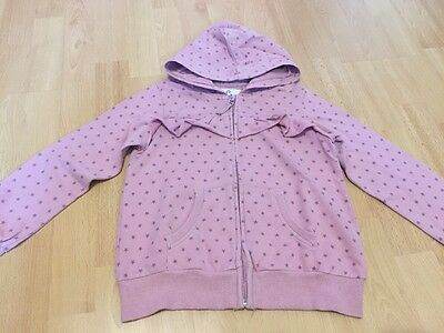 Girls Zipped Hoodie By Next - Age 7 Years