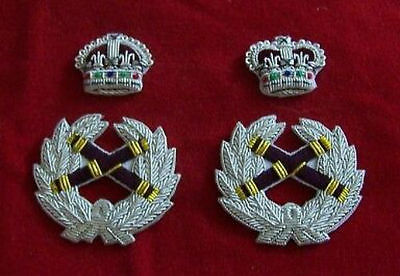 UK British Army BEF Officer Field Marshal General Uniform King Queen Crown Patch