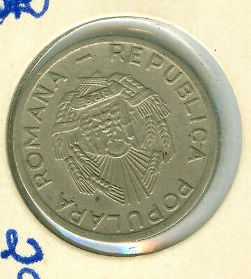 Romania 1952 25 Bani No Star--Almost Uncirculated