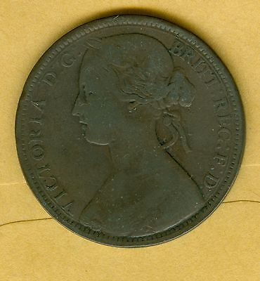 Great Britain--1862  Penny--Circulated