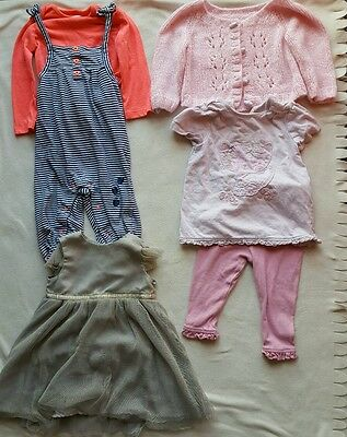 ������Baby Girl 9-12 months Clothes Bundle