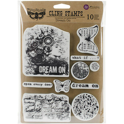 """Finnabair Cling Stamps 6""""X7.5""""-Dream On"""