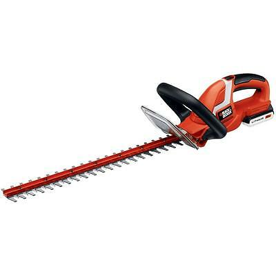 BLACK+DECKER 22 in. 20-Volt Lithium-Ion Cordless Hedge Trimmer (Tool only)