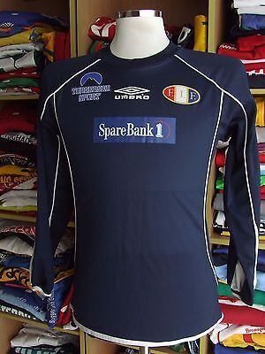 Shirt Fossum IF (S)#25 Away Umbro Norway Trikot Jersey Maglia Matchworn