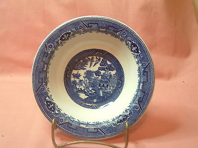 "BLUE WILLOW SHENANGO CHINA U.S.A.  Bowl 6 1/4"" X 1 5/8"""