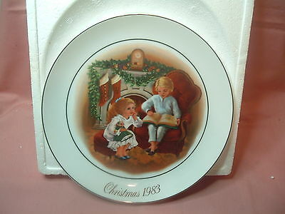 1983 Night Before Christmas Collector Plate
