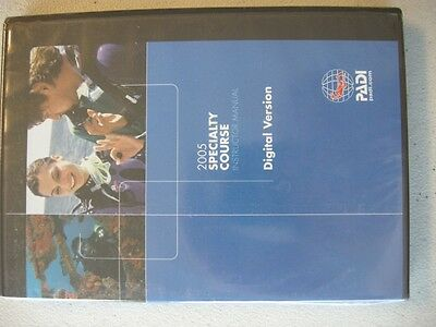 PADI Instructor Specialty Course DVD Instructor Manual 2005