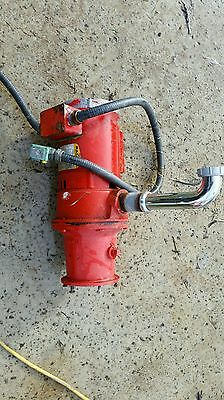 Baldor Industrial Commercial Motor Garbage Waste Disposal Food Sink Disposer Red