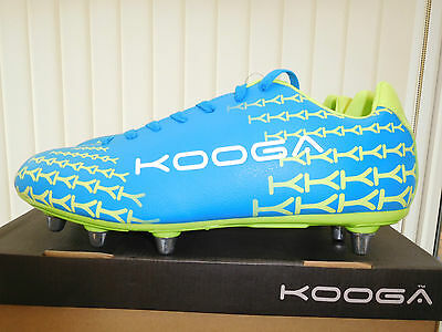 New,  Kooga  Rugby  Boots   Mens  U.k.  Size   12