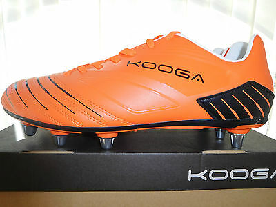 New,  Kooga  Rugby  Boots   Mens  U.k.  Size   12.5