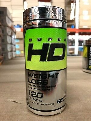 Cellucor Super HD Weight Loss - 120 Caps G4 - Free Shipping