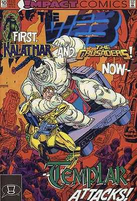 Web (1991 series) #10 in Near Mint condition. FREE bag/board