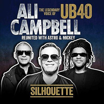 Ali Campbell Silhouette The Voice Of Ub40 Lp Vinyl 33Rpm New 2014