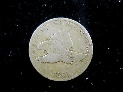 1858 Ll United States Flying Eagle One Cent Small Cent Coin