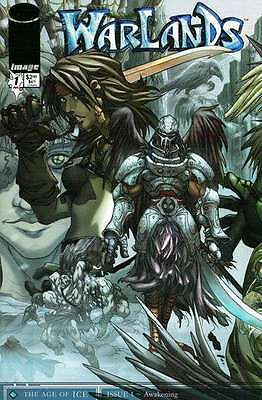 Warlands: The Age of Ice #1 in Near Mint + condition. FREE bag/board