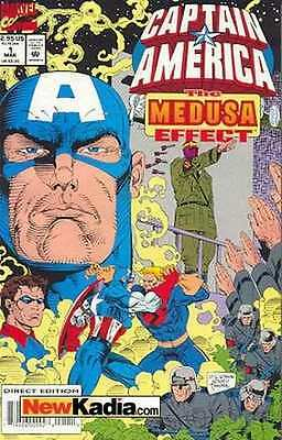 Captain America (1968 series) Medusa Effect #1 in Near Mint + condition
