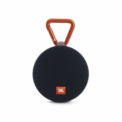 JBL Clip 2 Portable Bluetooth Speaker Black