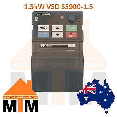 Single Phase 1.5kW Mini Compact VSD VFD Variable Speed Frequency Drive Inverter
