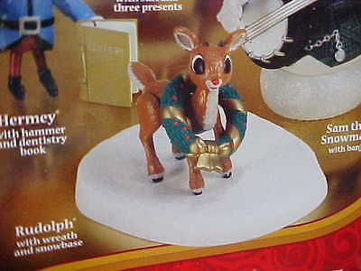NIB Rudolph The Red Nosed Reindeer Misfit Toys Christmas Forever Fun Figurine