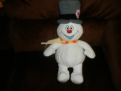 "Warner Bros FROSTY THE SNOWMAN 16"" CHRISTMAS CLASSIC Plush WORKS"