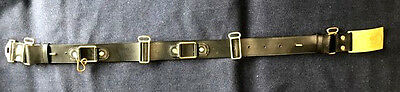 M1872 Cavalry Leather Saber Belt with US Buckle Size SMALL (32-36) Indian Wars