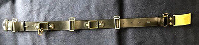 M1872 Cavalry Leather Saber Belt with US Buckle Size MEDIUM (36-42) Indian Wars