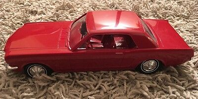 1965 AMT Promo Candy Apple Red Car Ford Mustang