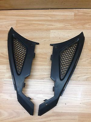 Kymco Agility 50 2011 Pair Of Under Seat Side Fairing Grille Panels