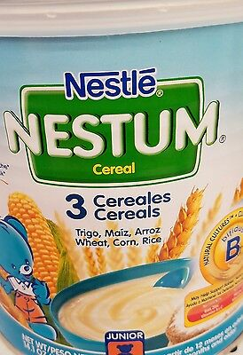 6 Nestle Nestum 3 Cereals,  14.1-Ounce Canister 12mon and up