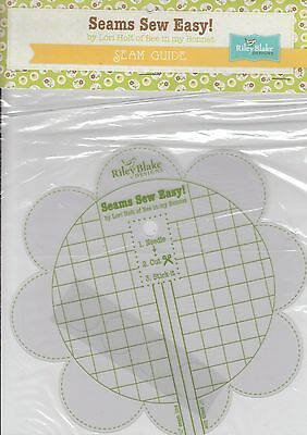 Seams Sew Easy - handy seam guide for machine  - Bee in My Bonnet