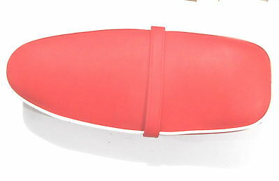 Vespa Saddle Seat RED Color Small Frame Vespa V50 90 100 ET3 Primavera 50 Spe.