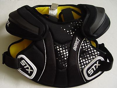New Stx Impact Lacrosse Shoulder Pads Size Youth Medium Nip