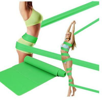 1.5M Resistance Tube Home Gym Fitness Exercise Workout Heavy Yoga Training Band