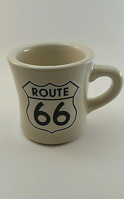Route 66 Coffee Mug Cup Thick Wall Restaurant Style Warmer