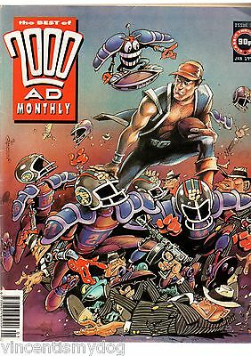 The Best Of 2000AD Monthly issue 76 Jan. 1992