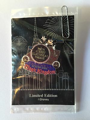 Disney Electrical Parade Float Pin -FAREWELL PIN  -  LTD EDITION