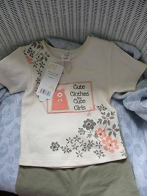 """Girls summer set """""""""""" age 2/3 ."""""""" Adams make /new with labels."""