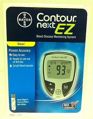 Bayer CONTOUR NEXT EZ Blood Glucose Monitoring System - Unopened - NEW