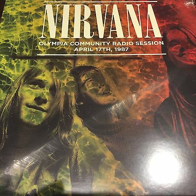 Nirvana 'olympia Community Radio Session April 17Th 1987' New Sealed Vinyl Lp