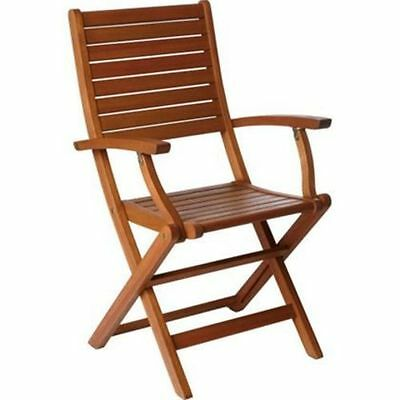 Peru Folding Wooden Chair with Arms - 2 Pack    345245