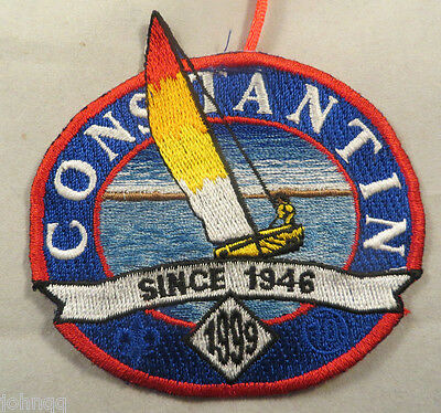 Boy Scout BSA Embroidered Patch - Constantin 1999 Circle 10 Council