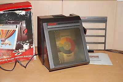 Vintage SIMON SVS5824 Large Screen 35mm Slide Viewer Fully Working